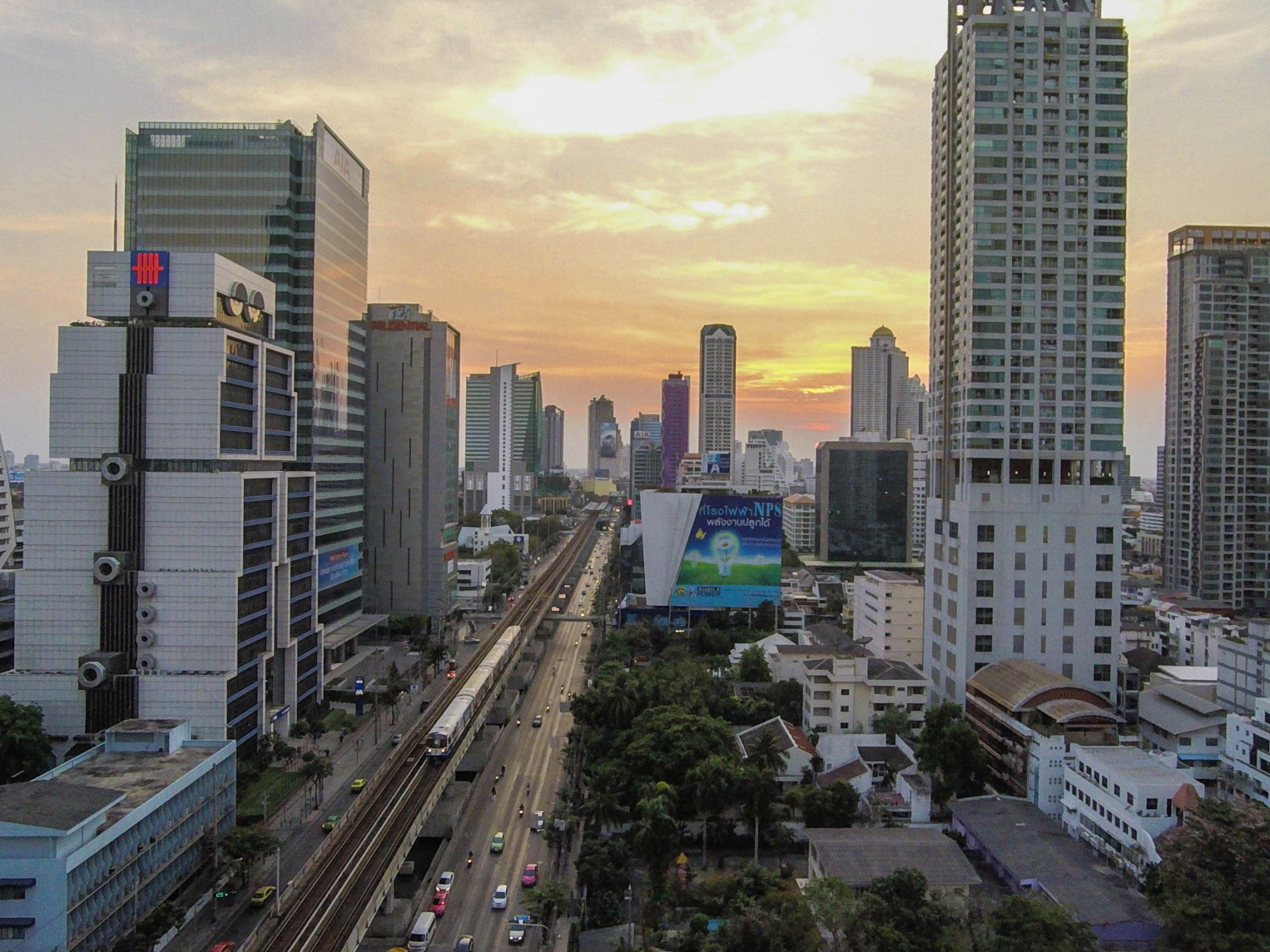 Flying Drones in Bangkok