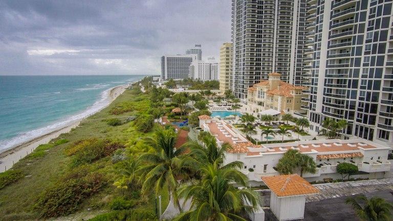 Flying Drones on Miami Beach