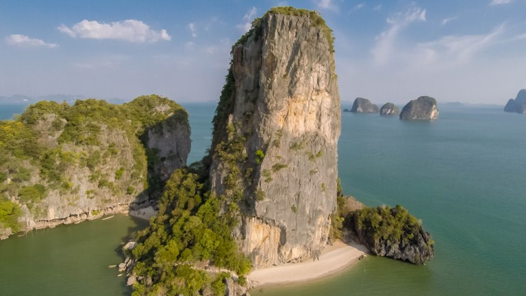 James Bond Rock in Phang Nga Bay