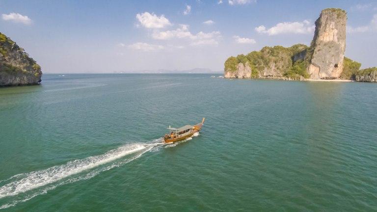 Phang Nga Bay Longtail Boat