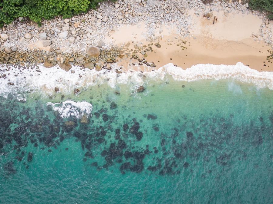 Phantom 4 Professional Beach