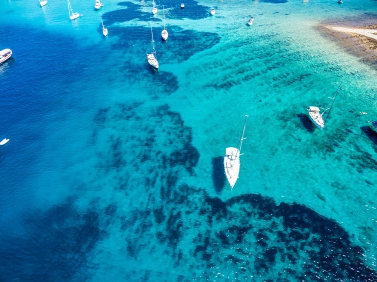 Drone photography in Croatia